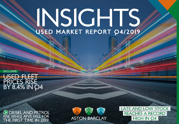 Aston Barclay Used Market Insights Report Q4 2019