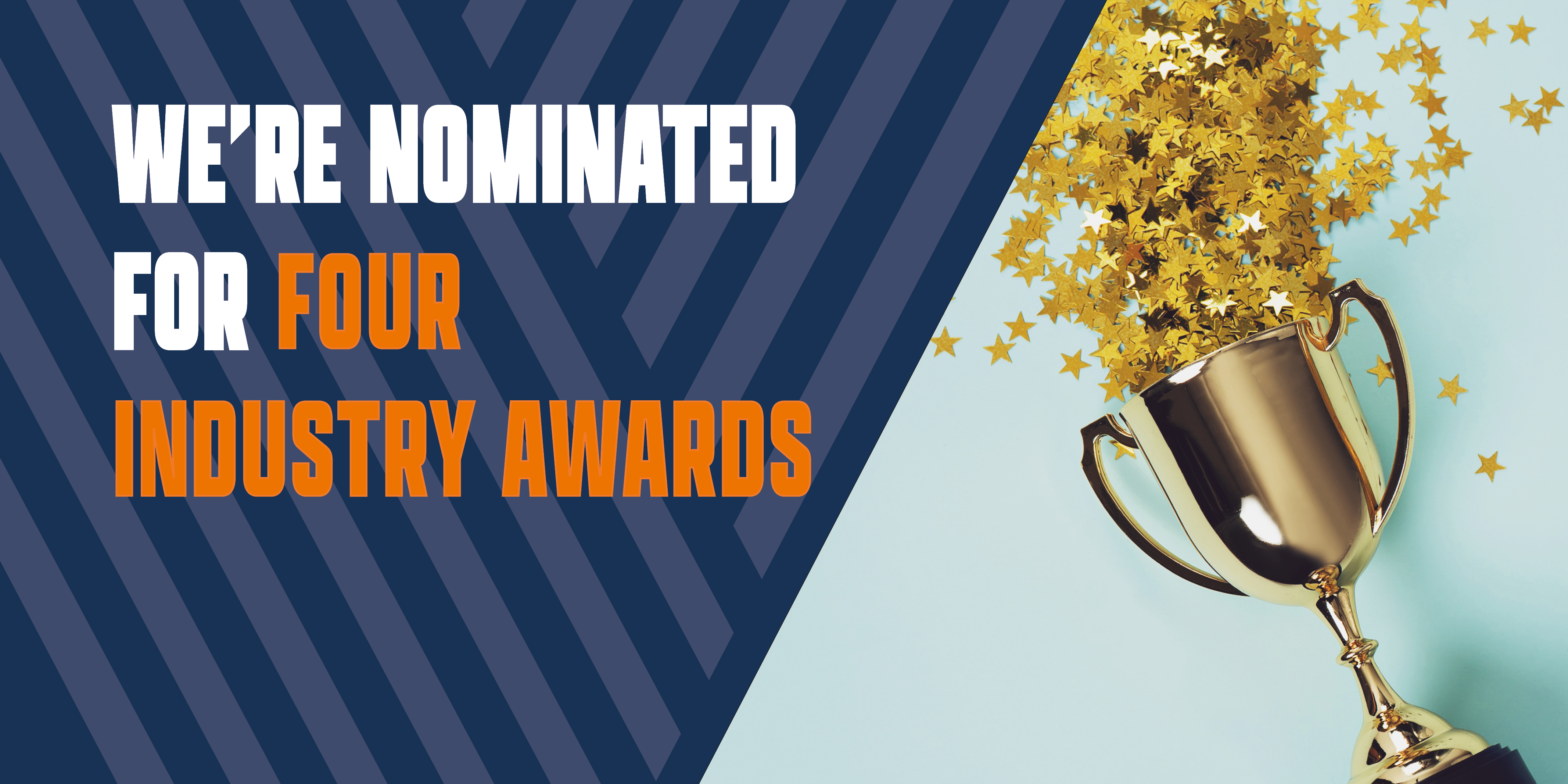V12VF nominated for four industry awards